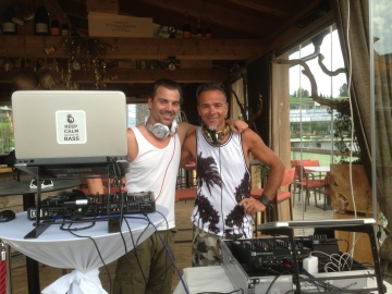 Woods open air festival 2016 DJ gerry pl@y@ und STEREO_pan